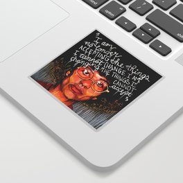 Angela Davis Sticker