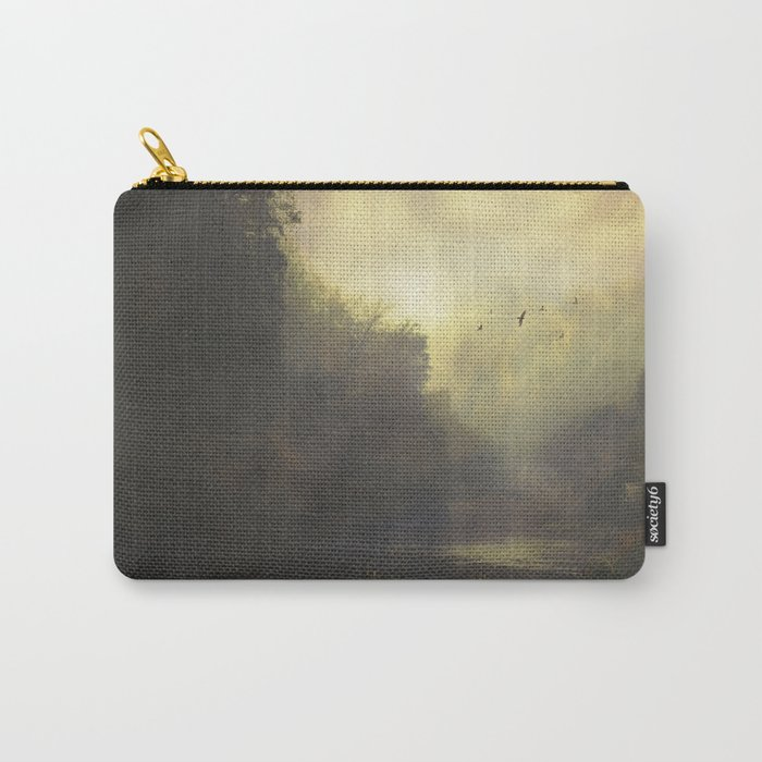 River And Mist Carry-All Pouch