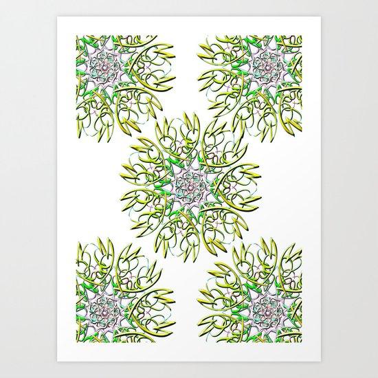 DIAMOND SUTRA Art Print