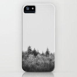 A passing glimpse iPhone Case