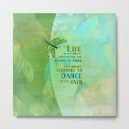 Life/Dance Metal Print