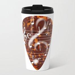 Treble Cleff Plectrum Travel Mug