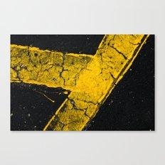 asphalt 1 Canvas Print