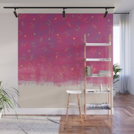 Abstract Beach Drapes Design Wall Mural