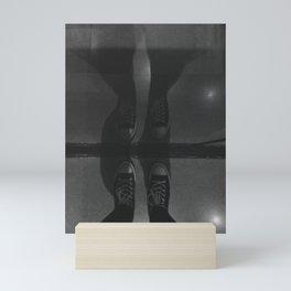 Sneaker Reflection Mini Art Print