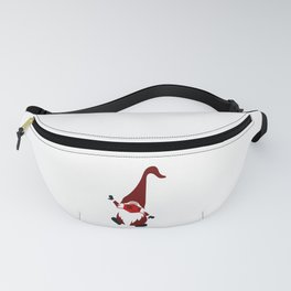 Dancing Gnome In Mask Fanny Pack