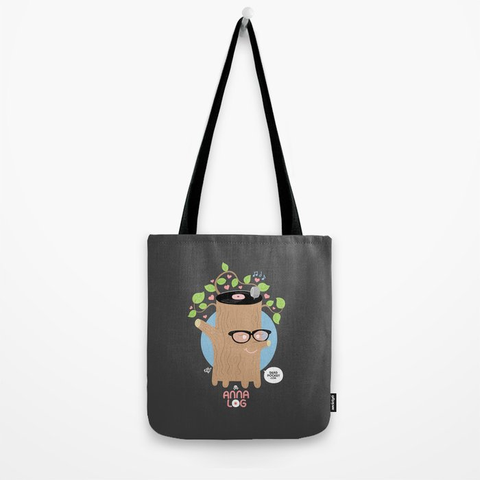 Anna Log Tote Bag
