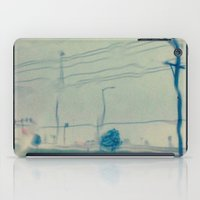 kansas city iPad Cases featuring Kansas City Rain by Jason Simms