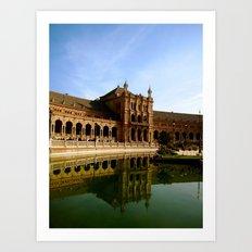 Plaza de España Art Print