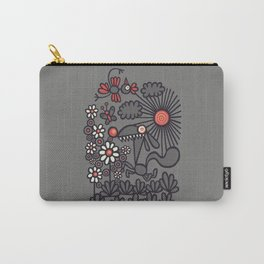 Unrelenting Happygoluckiness Carry-All Pouch
