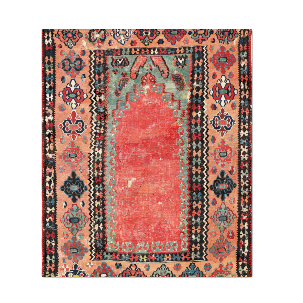 Sivas_Antique_Cappadocian_Turkish_Niche_Kilim_Print_Throw_Blanket_by_vickybragomitchell