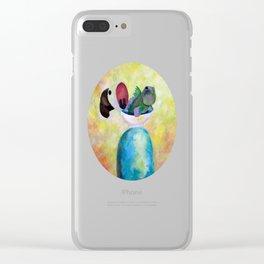 Fish Boy Clear iPhone Case