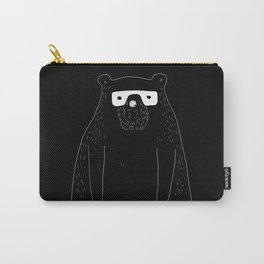 Bear with glasses Carry-All Pouch