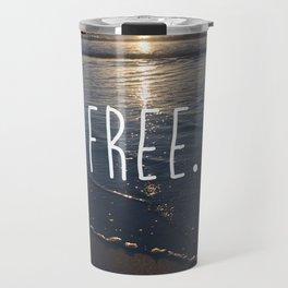 Be Free #Society6 Travel Mug
