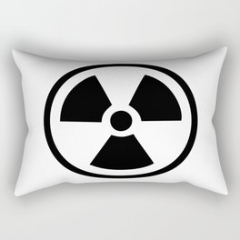 Radioactive Rectangular Pillow