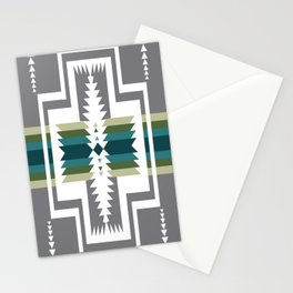 American Native Pattern No. 454 Stationery Cards