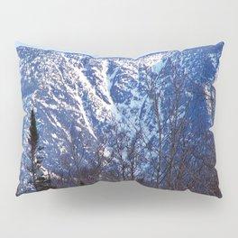 Mountain Crevasses Pillow Sham