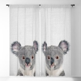 Baby Koala - Colorful Blackout Curtain