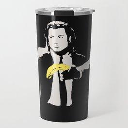 Banksy, Homage To A.Warhol, Banana And Quentin Tarantino, Artwork Reproduction, Posters, Prints, Bag Travel Mug