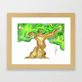 Madre Naturaleza / Mother Earth: Arbol 009 / Tree 009  Framed Art Print
