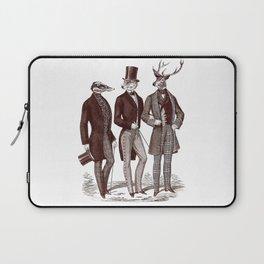 Gentlemen in the Woods Laptop Sleeve