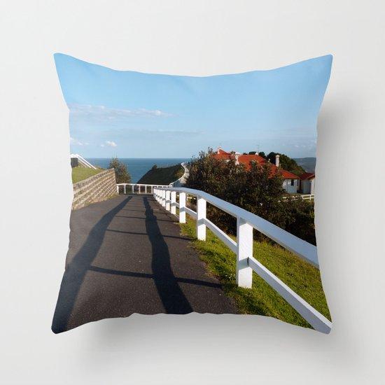 Walkway to Byron Bay, Australia Throw Pillow