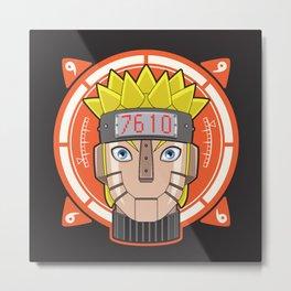 Mecha Naruto Metal Print