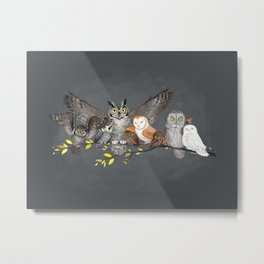 Fukurodani Metal Print