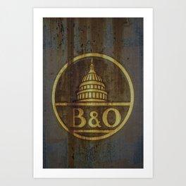 B&O Art Print