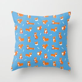 Corgi Butt Throw Pillow