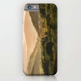 Sunny afternoon in Lake District iPhone Case
