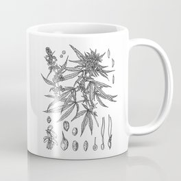 cannabis sativa Coffee Mug