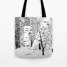 The Birches Tote Bag
