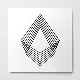 minimal & geometric no.2 Metal Print