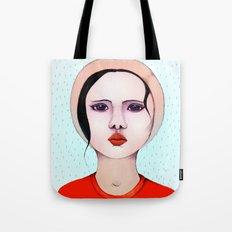 Miss Rain Tote Bag