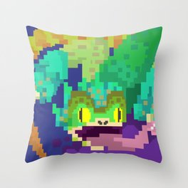 Pukei Pukei Throw Pillow