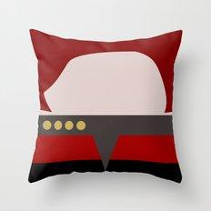 Captian Katherine Janeway - Minimalist Star Trek: Voyager VOY - trektangle - startrek trektangles Throw Pillow