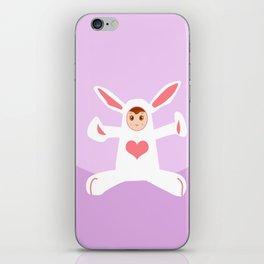 Charming Rabbit iPhone Skin
