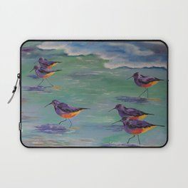 Dance of the Sandpipers Laptop Sleeve