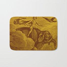 The Occult Golden Elephant Bath Mat