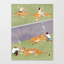 T-hig-er Canvas Print