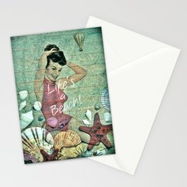 Life's a Beach!! Stationery Cards