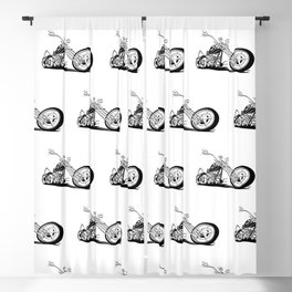 Custom American Chopper Motorcycle Blackout Curtain