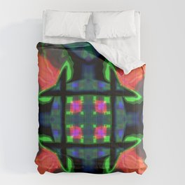 Concentrate on the squares Comforters