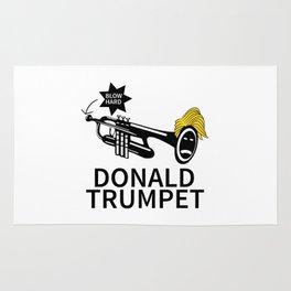 Donald Trump Trumpet Rug