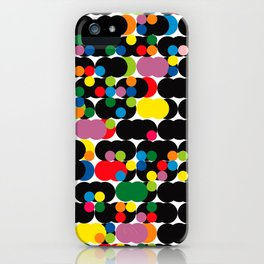 DOTS - polka 1 iPhone Case