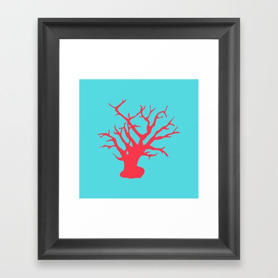 CORAL REEF 3 Framed Art Print