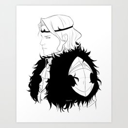 Winter Prince Art Print