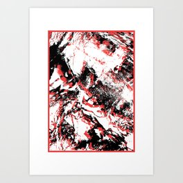 MTHSN_RED_ID Art Print