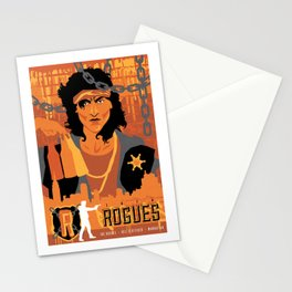 THE WARRIORS :: THE ROGUES Stationery Cards